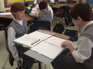 Lit Circles, Chalk Talk, Biomes, Peer Conferences 013
