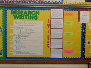 Outline, Peer Conferences, Research Bulletin Board 008