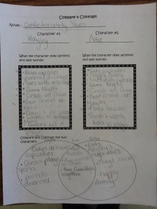 Force Foldable, Theme, Compare & Contrast, Earth Day 020