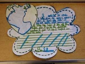 Force Foldable, Theme, Compare & Contrast, Earth Day 075